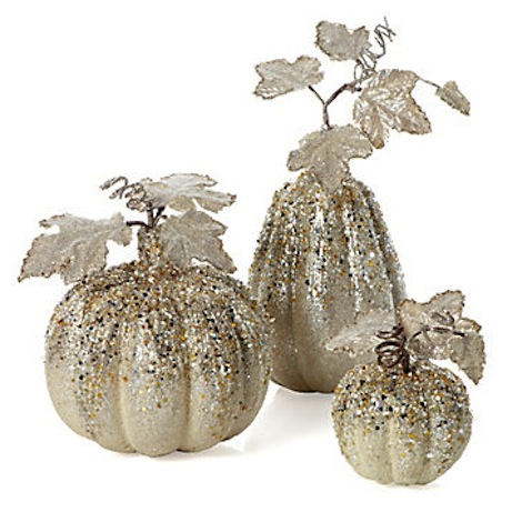 beaded pumpkins