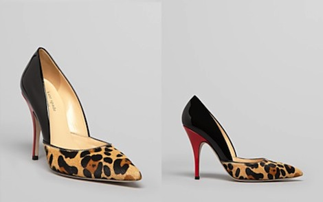 ks leopard pumps