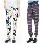 pattern joggers