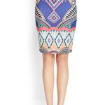 forever vibrant tribal skirt