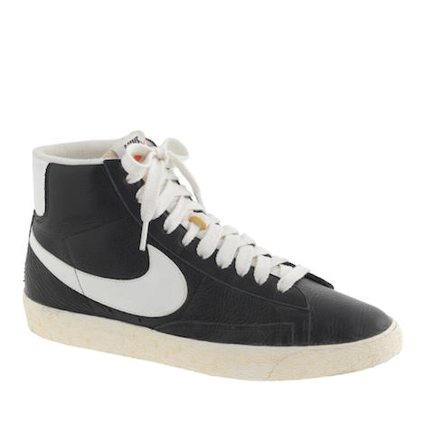 nike black leather