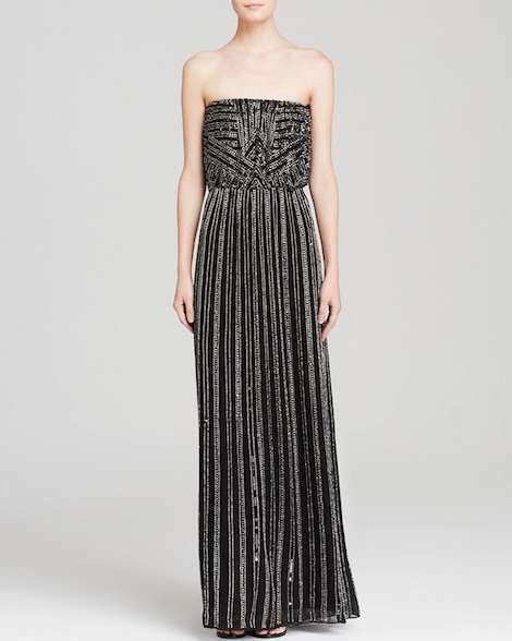 Parker Gown - Lovey Strapless