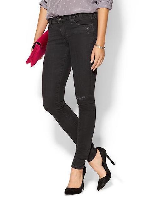 ag black legging jeans