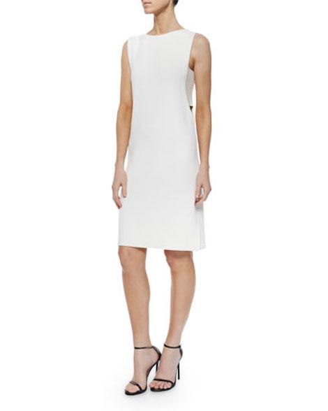 Derek Lam 10 Crosby Sleeveless Side-Cutout Shift Dress