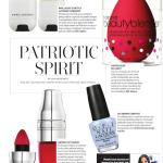 July Beauty Magazine Article