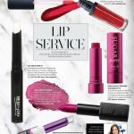 Beauty magazine article