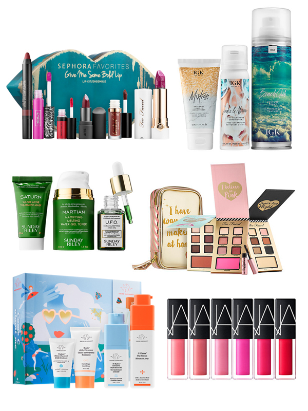 beauty holiday gift set