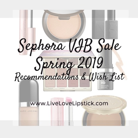 sephora vib 2019 spring sale